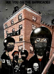 Cartel Ungdomshushet Black Bloc