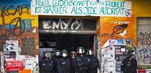 Rigaer 94 redada policial