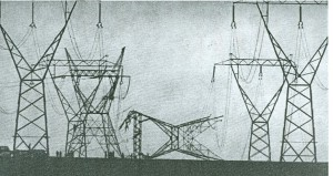 Torre saboteada
