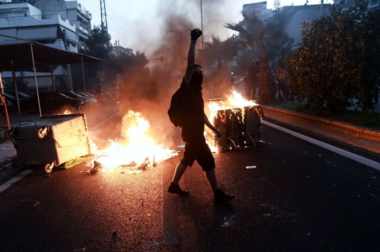Disturbios 19 septiembre