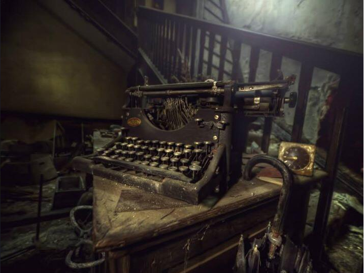Máquina escribir vieja