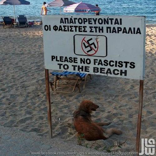 Perros sí, nazis no