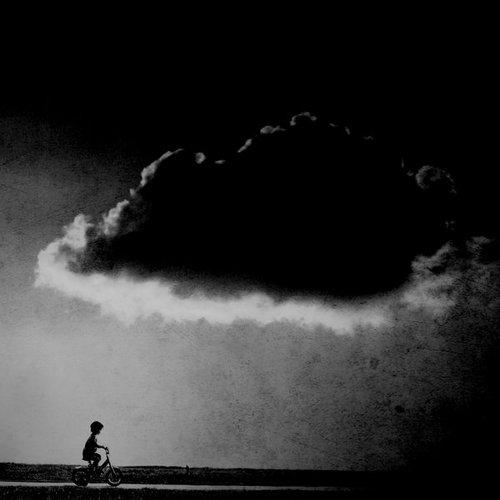 Bici nubes.