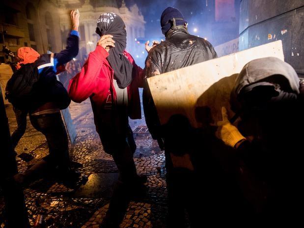 Disturbios Río de Janeiro