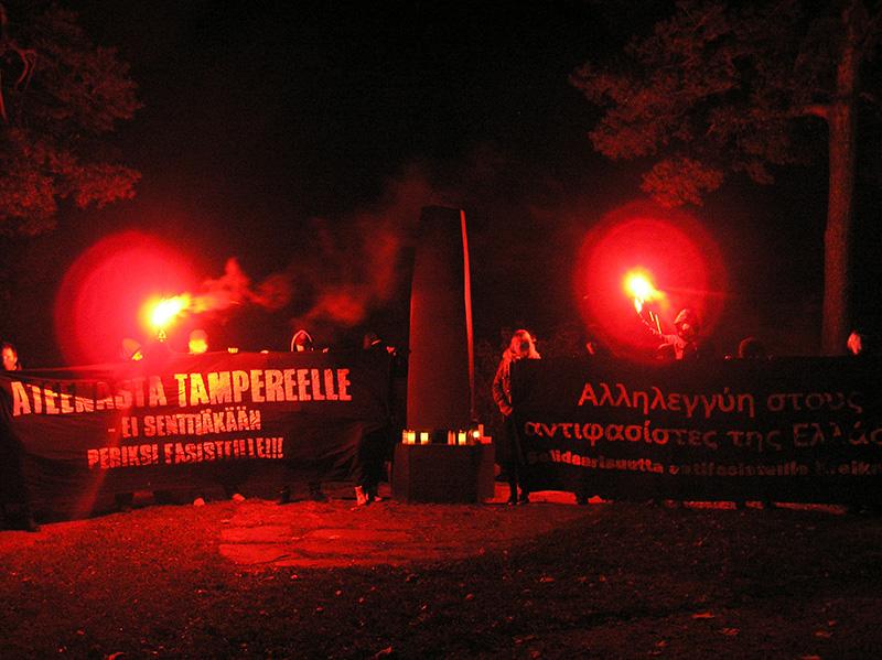 Tampere protesta.