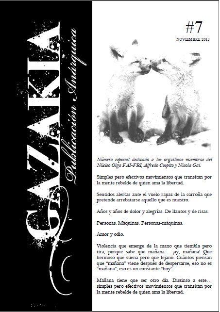 Gazakia nº 7 portada