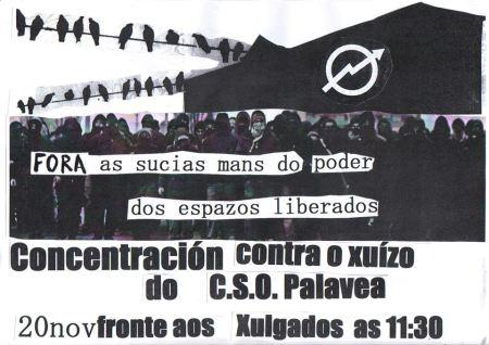 Concentración CSO Palavea