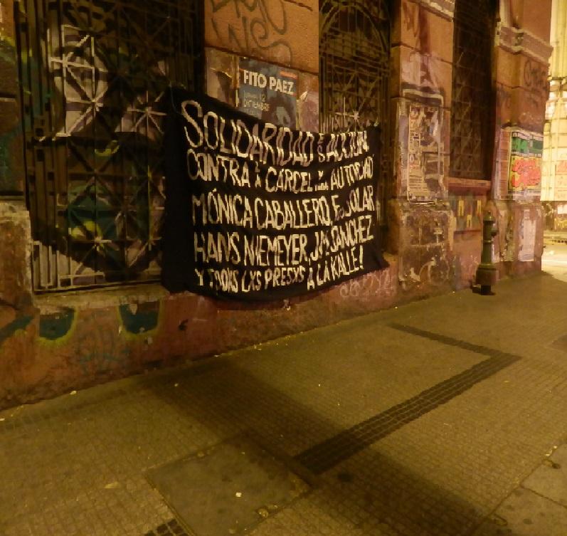 Barricadas Chile solidaridad presxs 2