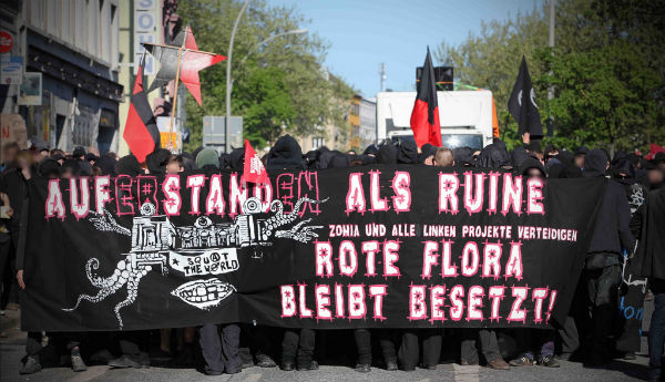 Mani Hamburgo Rote Flora 3