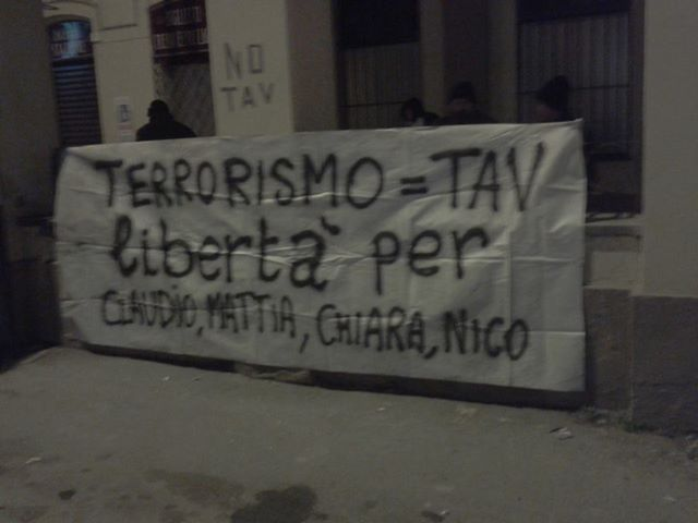 Solidaridad encarceladxs NO-TAV