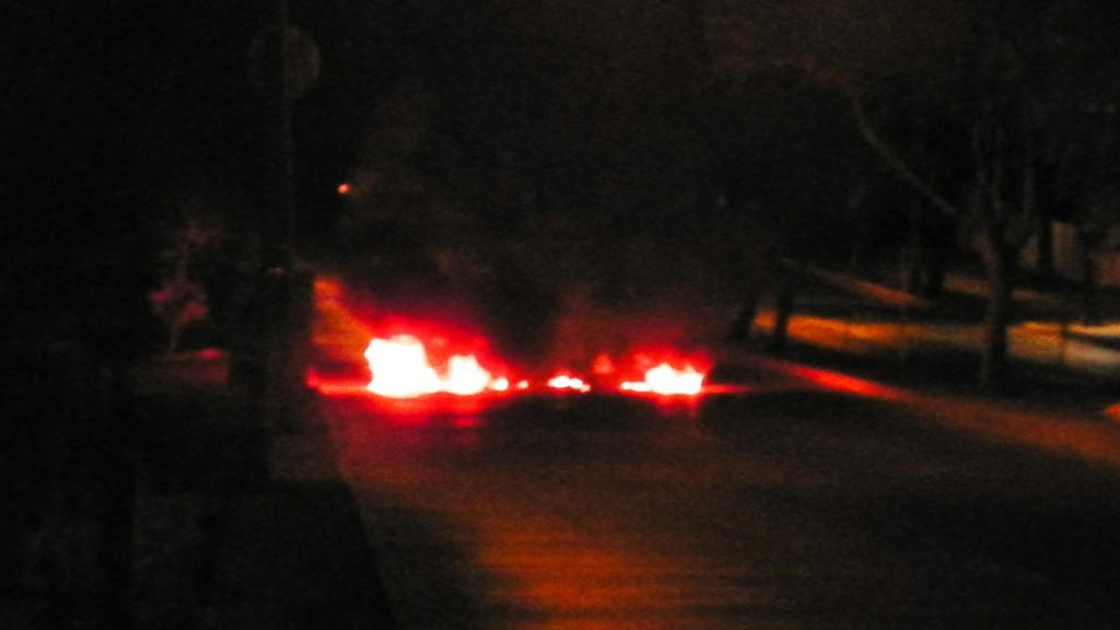 Barricadas Pudahuel febrero 2014 2