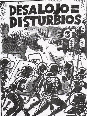 Desalojos son disturbios