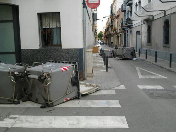 Barricadas SAnts