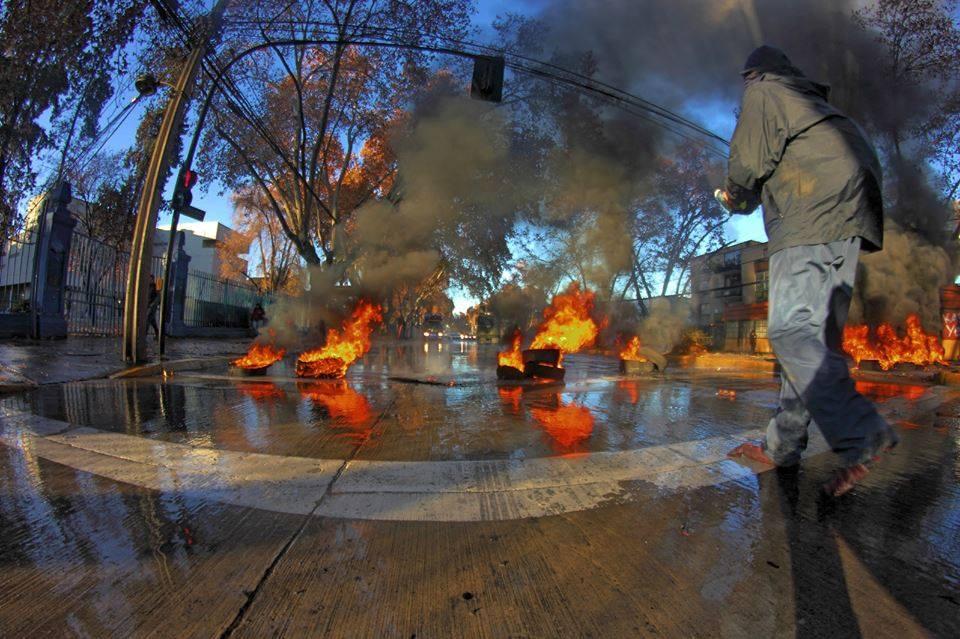Disturbios Chile 26 Junio 1