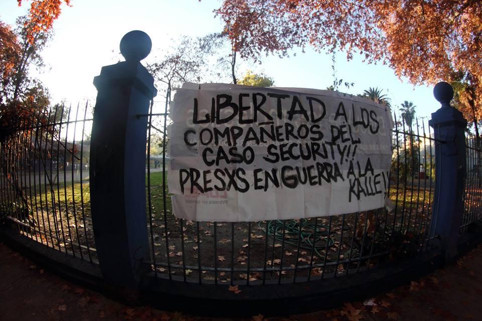Disturbios Chile 26 Junio 2
