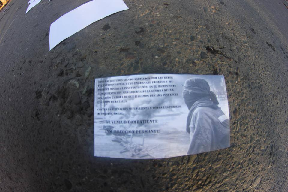 Disturbios Chile 26 Junio 4