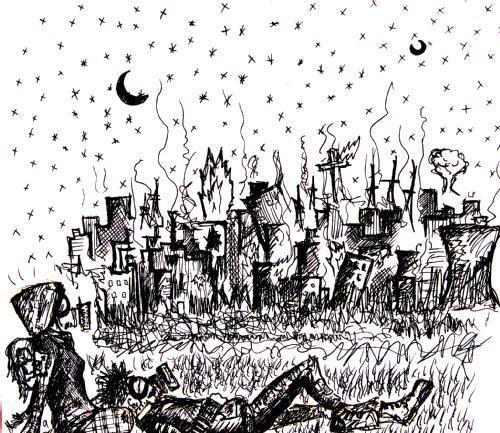 Fuego ciudad