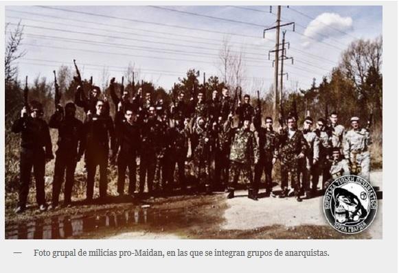 Ucranianos nazis usurpan imaxe mackhno 4