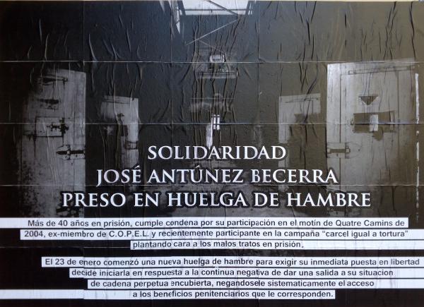 Soli Becerra Sant Andreu primer plano cartel
