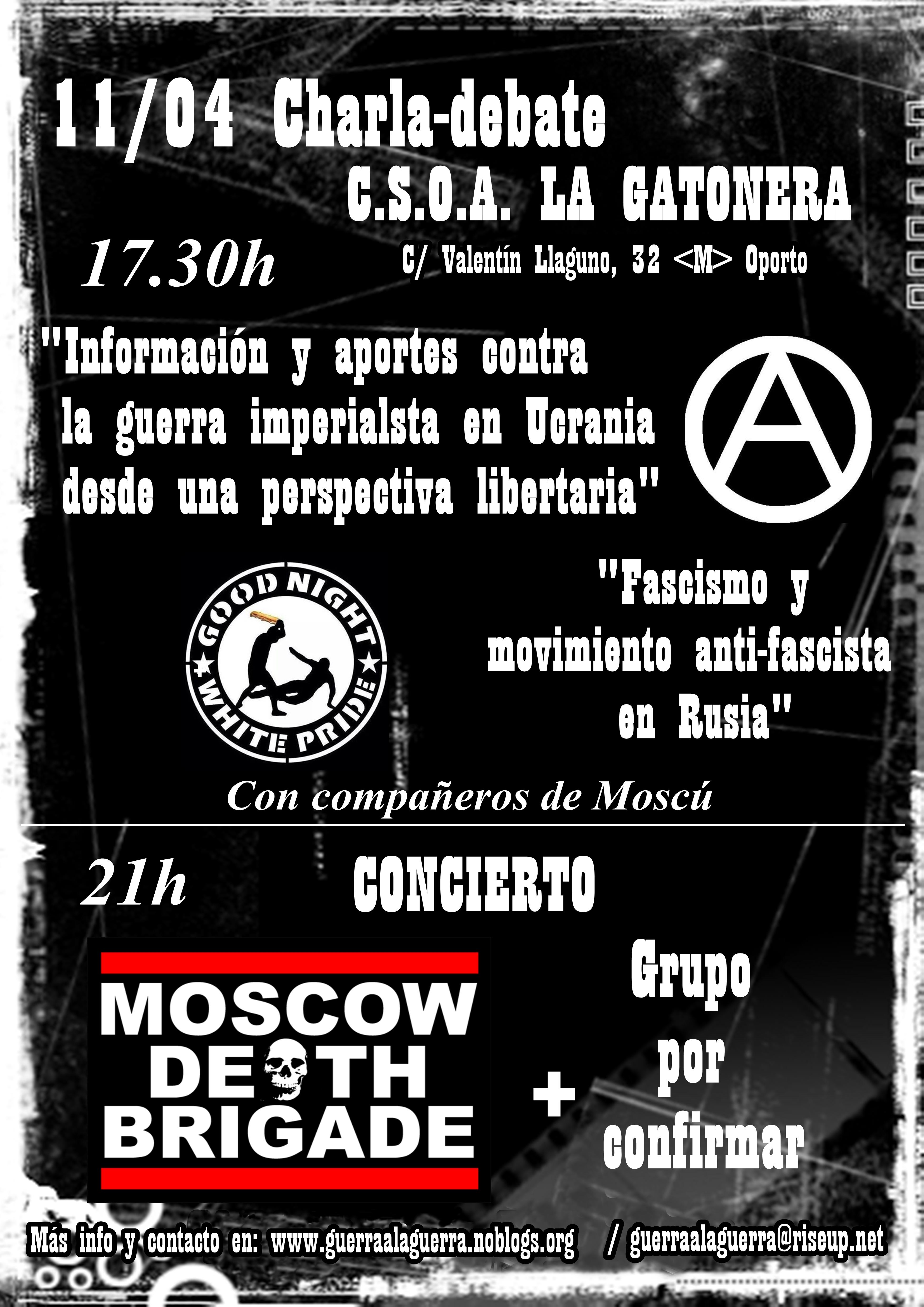 11 abril Gatonera guerra Ucrania
