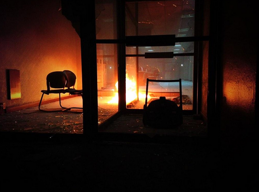 Atenas fuego