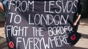 De Londres a Lesbos combatamos las fronteras en todas partes