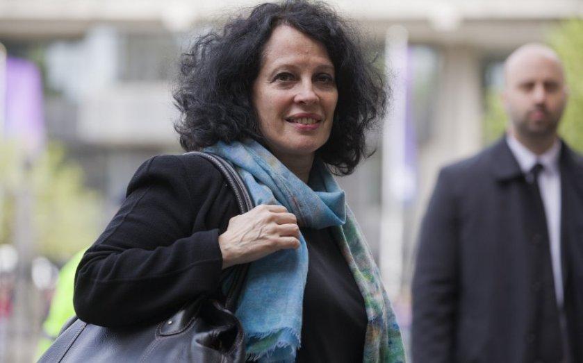 """La miserable embajadora francesa en Reino Unido y anfitriona de la """"fiesta"""", Sylvie Bermann"""