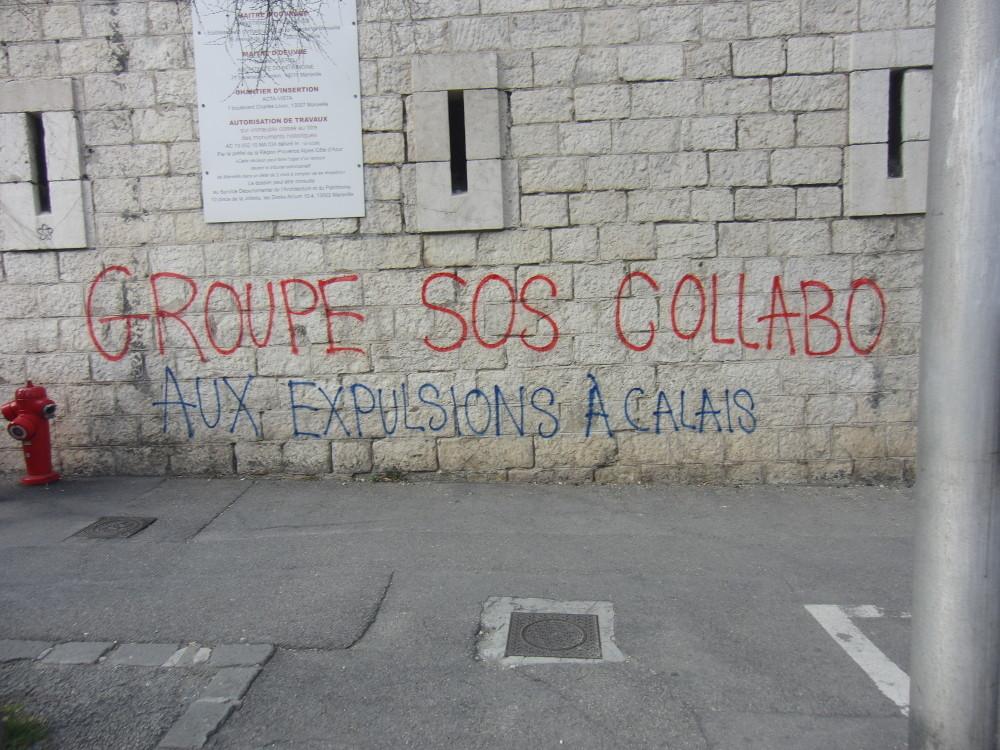Grupo SOS colabora con las expulsiones en Calais