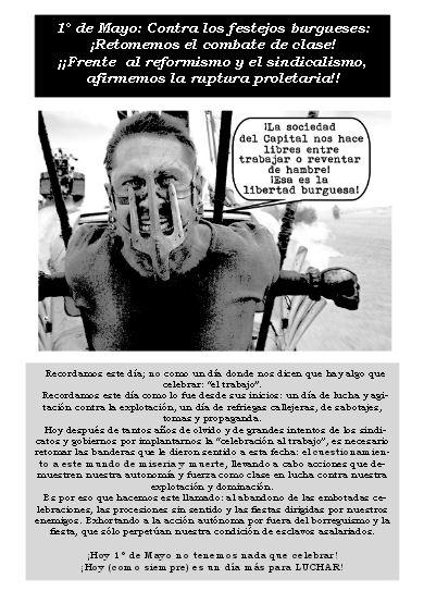 [Panfleto] 1 de mayo, contra los festejos burgueses...