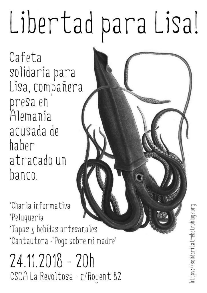 ... Barcelona) habrá una charla informativa sobre el caso 1c9e2ab4c8a